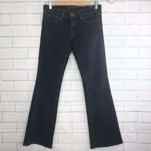 J Brand Jeans 26 Bootcut Black Womens Denim Pants